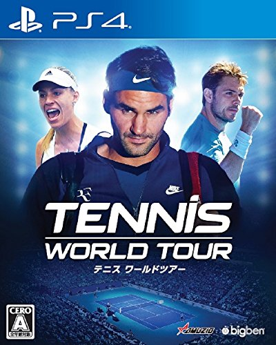 Oizumi Amuzio Tennis World Tour SONY PS4 PLAYSTATION 4 JAPANESE VERSION [video game]