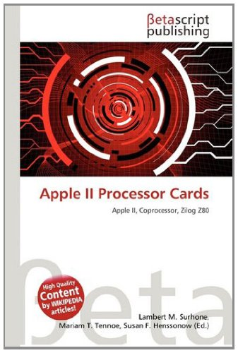 Apple II Processor Cards