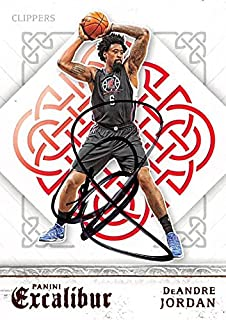 DeAndre Jordan autographed Basketball Card (Los Angeles Clippers) 2016 Panini Excalibur #81 - Unsigned Basketball Cards
