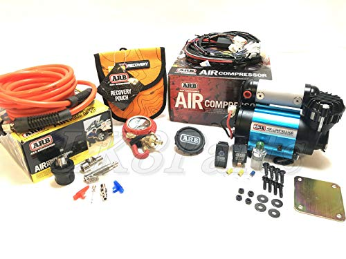 Proper Spec Ultimate Wheeler ARB Air Compressor KIT, E-Z Tire Deflator & Pump Up Kit 4x4