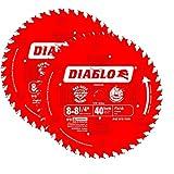 Freud D0840X Diablo 8-1/4-Inch 40T ATB Perma-Shield Finishing Saw Blades, 2-Pack