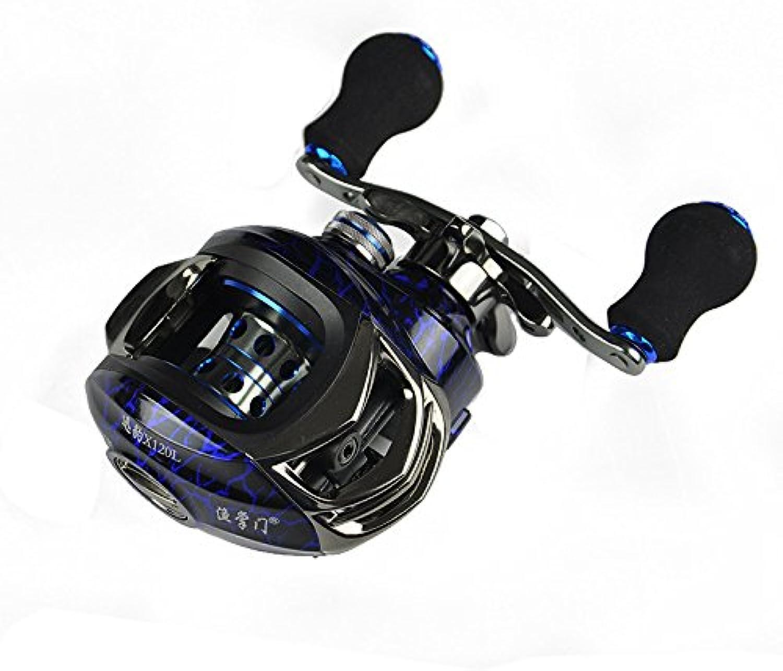 Ochoos X120 6.3 1 11+1BB Baitcasting Fishing Reel 5.5KG Drag Left Right Hand Sea Fishing Reel - Fishing Reel