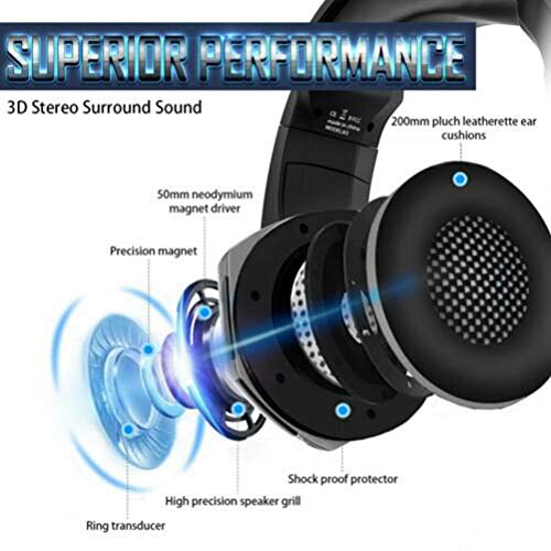 K5 Best Gaming Headset Gamer Casque Deep Bass Gaming Headphones for Computer PC Laptop Notebook with Microphone Converter LED