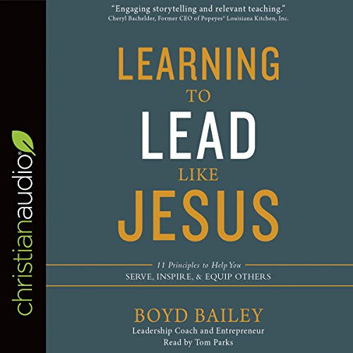 Learning to Lead Like Jesus audiobook cover art