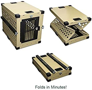 Impact Collapsible, Durable Aluminum Dog Crate (Small (24