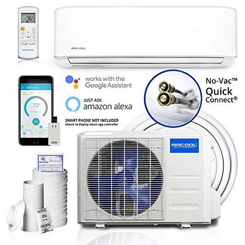 MRCOOL Comfort Made Simple DIY 12,000 BTU Ductless...