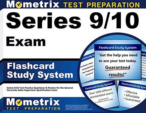 Series 9 10 Exam Flashcard Study System Series 9 10 Test Practice Questions Review For The General Securities