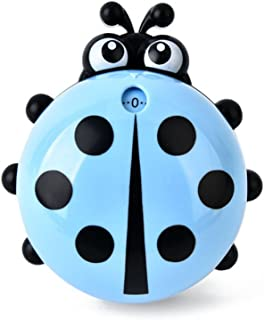 (Blue) - Cute Ladybug Machinery Timers 60 Minutes Mechanical Kitchen Cooking Timer Clock Loud Alarm Counters Manual Timer ...