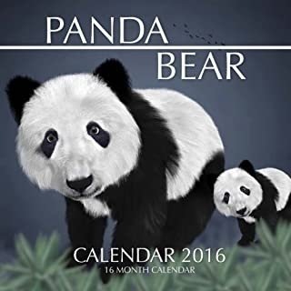 Panda Bear Calendar 2016: 16 Month Calendar by Jack Smith (2015-10-04)