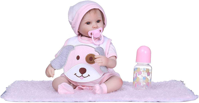 ECMQS 16inch (40 cm) Lebensechte Puppen Baby Mädchen, Qualität Reborn Puppe Komplett Silikon Vinyl Realistische Baby Puppe Handgemachtes Geburtstagsgeschenk B07KCZ7T54 Garantiere Qualität und Quantität  | Ausgezeichnete Leistung