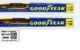 2002-2012 Mini Cooper Replacement Wiper Blade Set/Kit (Set of 2 Blades) (Goodyear Wiper Blades-Premium)...