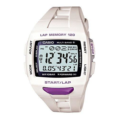 [カシオ] 腕時計 フィズ LAP MEMORY 120 電波ソーラー STW10007JF ホワイト