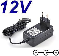 CARGADOR ESP ® Cargador Corriente 12V Compatible con Reemplazo Television Televisor TV Grundig 22 VLE 4520 BF 22VLE4520BF Recambio Replacement