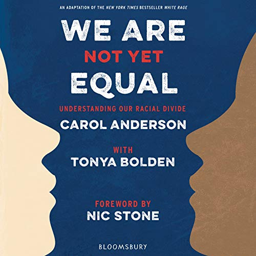 We Are Not Yet Equal audiobook cover art