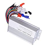 Annadue 1000W-1500W 48V 60V 64V Brushless Controller Multifunction E-Bike ControllerBrushless Motor Controller Metal 12 Tube 7x3.3x1.6inch for Bicycle Ebike Scooter
