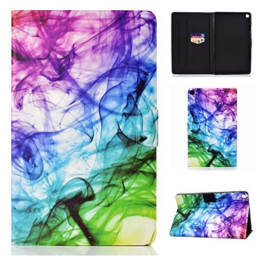 Funda para Samsung Galaxy Tab A7 de 10,4 pulgadas 2020 de piel sintética con función atril y tarjetero con cierre magnético para tablet Galaxy Tab A7 de 10,4 pulgadas SM-T500/T505/T507