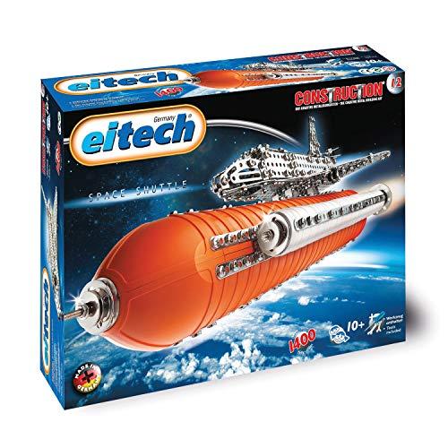 Eitech Eitech-C12 Juego de construcción, 1400 Piezas (2042530), Multicolor, Transbordador Espacial Deluxe (C12)