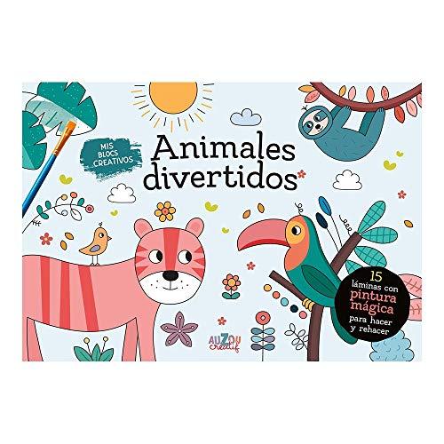 Mis blocs creativos. Animales divertidos. Pintura mágica