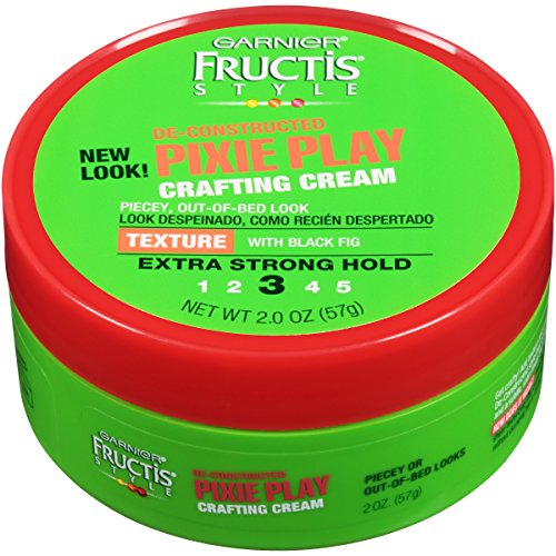 Garnier Fructis Style Pixie Play Crafting Cream, All Hair Types, 2 oz. (Packaging May Vary)
