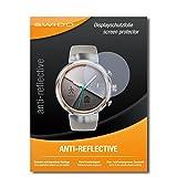 SWIDO® Schutzfolie für Asus Zenwatch 3 WI503Q [2 Stück] Anti-Reflex MATT Entspiegelnd, Hoher Festigkeitgrad, Bildschirmschutz, Bildschirmschutzfolie, Panzerglas-Folie