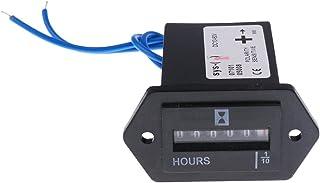 Homyl DC/AC LCD Digital Betriebsstundenzähler Stundenzähler Zeitzähler