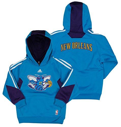 Charlotte Hornets NBA Big Boys Youth On Court Sudadera con capucha, azul (mediano (10-12), azul