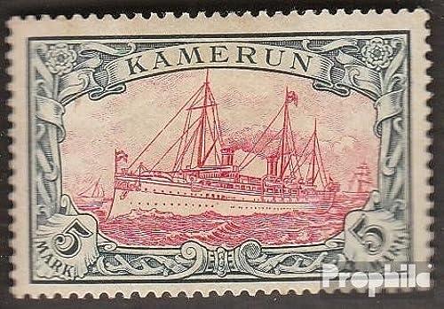 minoristas en línea Prophila sellos sellos sellos para coleccionistas  Camerún (alemán. colonia) 19 matasellado 1900 Barco yate del emperador Hohenzollern  protección post-venta