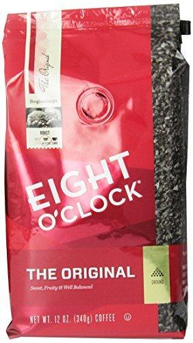Eight O'Clock Coffee, Original Ground, 12-Ounce Bag (Pack of 6)
