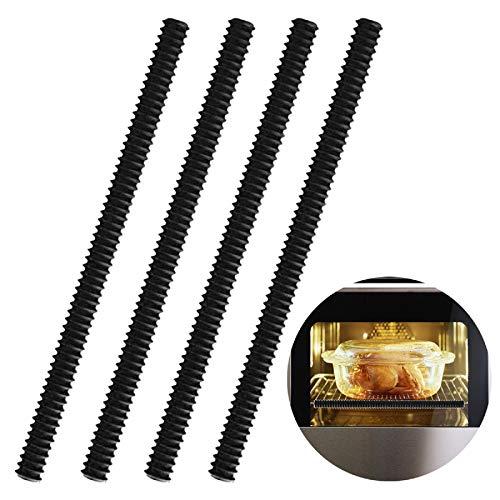 Yudanny Protector de Rejilla para Horno de Silicona Resistente Al Calor Paquete de 4