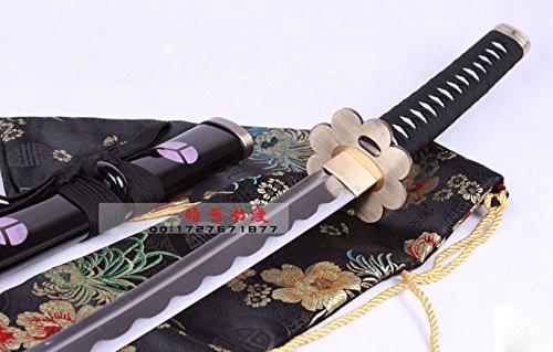 S0268 ONE Piece Roronoa Zoro SHUSUI Sword Brush HAMON HABUCHI EDDE W/Fuller 41'