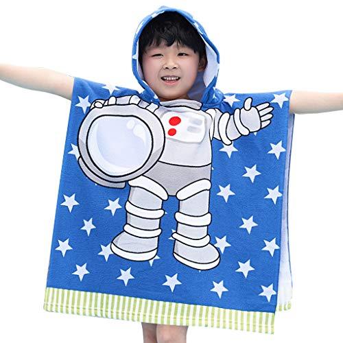 Vokmon Ducha Niños Baño Capa con Capucha para niños de Dibujos Animados los niños Capa con Capucha Toalla Toalla de baño de Secado del Poncho, Tipo 8