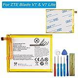E-yiviil Li3825t43p3h736037 - Batería de Repuesto Compatible con ZTE Blade V7 y V7 Lite con Herramientas
