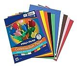 Tru-Ray Construction Paper, 10 Classic Colors, 9' x 12', 50 Sheets
