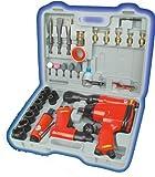 Mannesmann 15033 Set d'outils air comprimé avec accessoires 33 pièces (Import Allemagne)