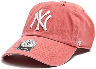[フォーティセブン] 帽子 47 キャップ ニューヨークヤンキース 47brand B-RGW17GWS-IR ピンク