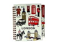 Carnet de notes et stylo, jolis souvenirs de Londres. Modèle London Everything. Carnet de notes et stylo, adorables souvenirs de Londres. Format compact:15 x 12 x 1cm. Surprenez vos amis ou les familles avec des enfants.