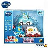 VTech- TutTut Bólidos Pack 3 Coches. Grúa, Ambulancia, Turismo, Color (3480-242187)