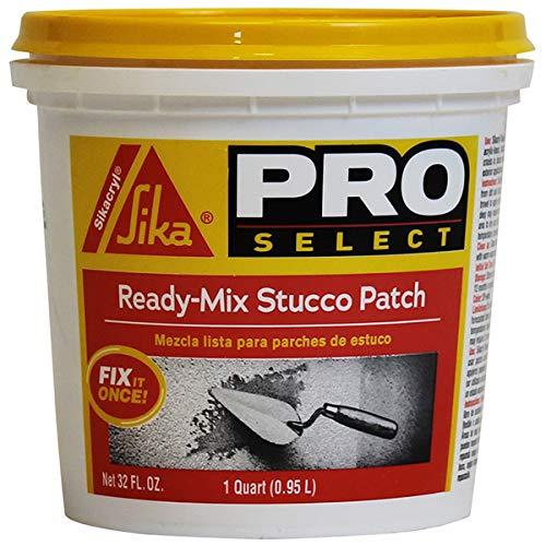 SIKA - 503333 Sikacryl Ready-Mix Stucco Patch, 1 Qt, White