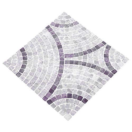 10 azulejos de pared impermeables, diseño hexagonal, fácil de quitar para el hogar, baño, cocina