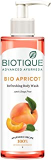 Biotique Apricot Body Wash, Transparent, 200 ml