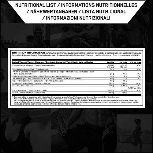 Optimum Nutrition Whey Gold Standard Protein, Double Rich Chocolate, 1er Pack (1 x 2273 g) - 8