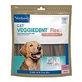 C.E.T. VEGGIEDENT Flex Tartar Control Chews for Dogs - Large