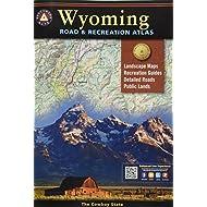 Wyoming Road & Recreation Atlas (Benchmark Recreation Atlases)