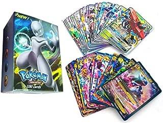 100 Pcs Pokemon assorted cards -m011