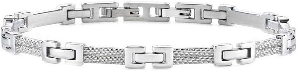 Morellato, braccialetto a catenina,per uomo,in acciaio_inossidabile SKR35