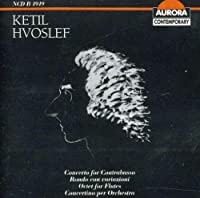 Hvoslef: Conc for Contrabasso