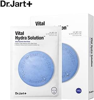 Dr.Jart+/ドクタージャルト ドクタージャルト ダーマスク ウォータージェット バイタルハイドラソリューション 5枚 (Dr.Jart+ DERMASK WATER JET VITAL HYDRA SOLUTION + Special Gift) スポット [海外直送品]