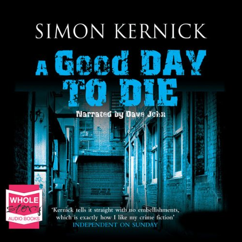 A Good Day to Die audiobook cover art