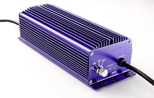 Lumatek 600W elektronisches Vorschaltgerät, 4-Stufen dimmbar. 600W NDL/MH electronic ballast