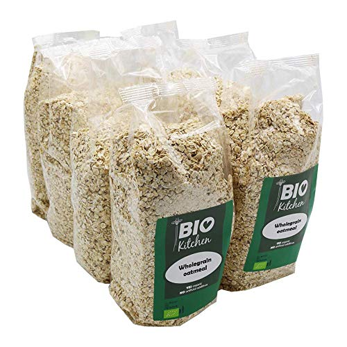 BioKitchen - Avena integrale biologica, 8 x 500 g